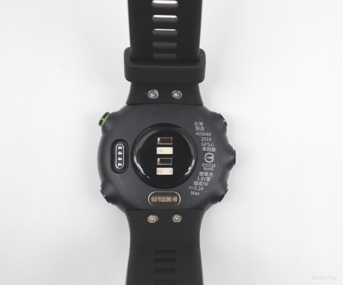 【開箱】GARMIN Forerunner 45 GPS心率手錶-小而美的入門跑錶推薦